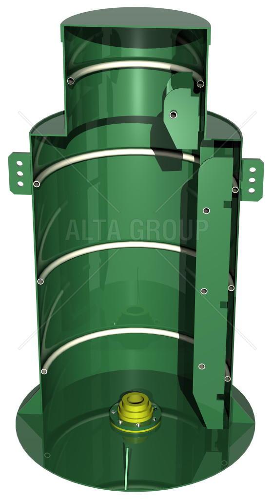 кессон пластиковый Alta Kesson «Тип В» - 630x1000х2000