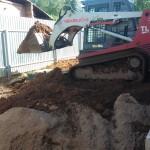 Закопка Топас 5 Пр после наращивания