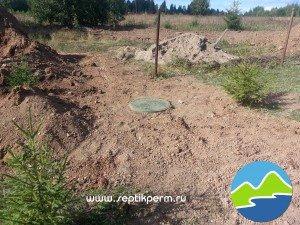 Монтаж выгребной ямы в Кулигино