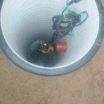 Установка канализационного насоса в КНС