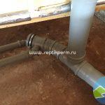 Разводка канализационных труб