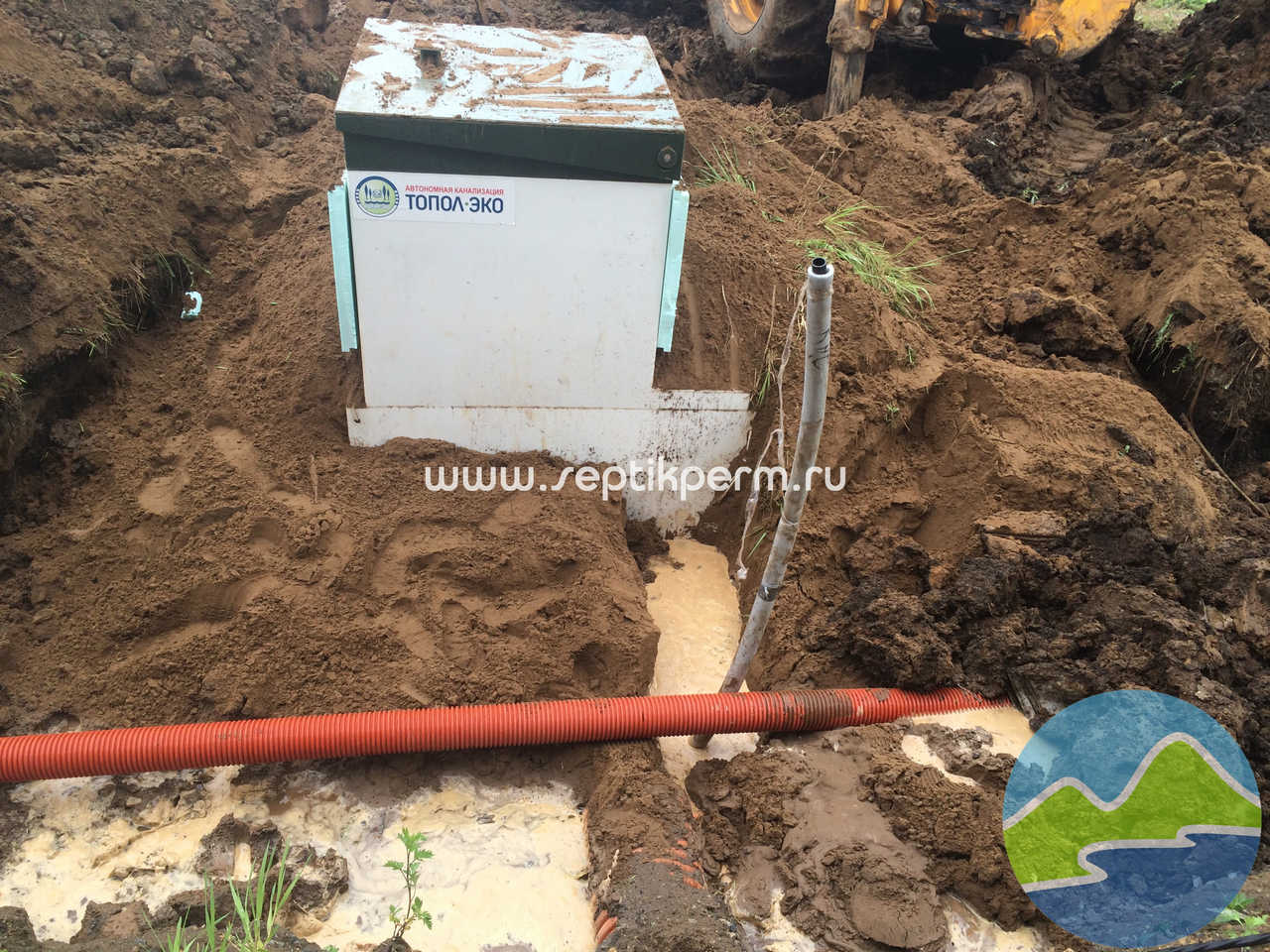 Автономная канализация Топас в Перми