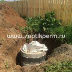 Монтаж автономной канализации Топас 5 Пр