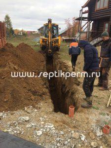 Комплексные работы Усть-Качка