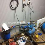 Установка автоматической подачи воды