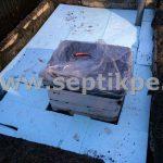 Монтаж пластикового погреба ТИНГАРД