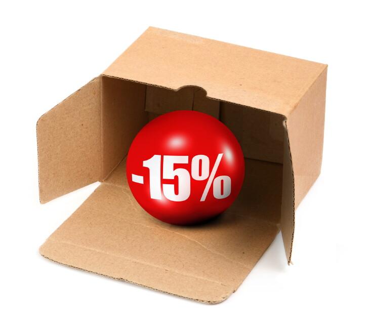 Скидка 15% на Топас