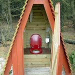 дачный туалет 2
