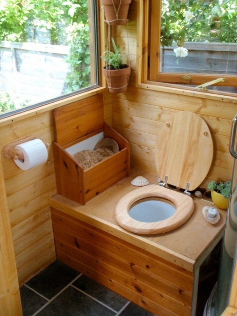 дачный туалет фото