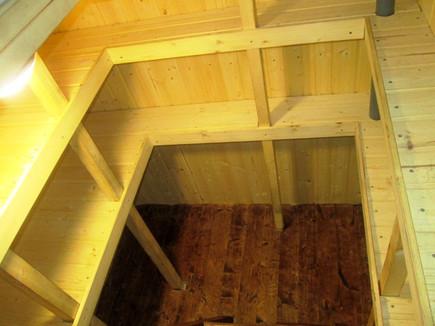 корпус погреба тортила деревянная обшивка