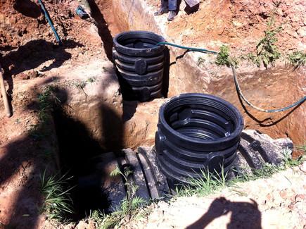 Подземные баки для канализации