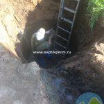 Топас 5 пр был установлен в бетонный колодец