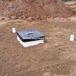 Установка овощного погреба в налимихе