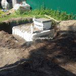 Установка овощного погреба на труда