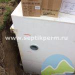 Шефмонтаж септика Топас 8 Пр на Кемеровской.