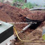 Монтаж канализации Топас 4 Конец-Бор