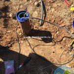 установка адаптера для скважины