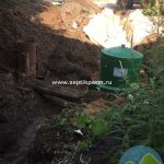 Монтаж станции глубокой биологической очистки Альта Био 3+