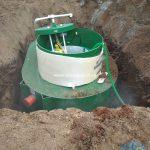 Монтаж станции глубокой биологической очистки АльтаБИО 5+ low