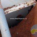 Монтаж станции глубокой биологической очистки Топас 5 Пр деревня Батуры