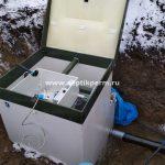 Шефмонтаж станции глубокой биологической очистки Топас 9 Long в д.Мокино