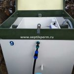 Шефмонтаж станции глубокой биологической очистки Топас 9 Long в д.Мокино ул. Школьная