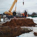 Установка овощного погреба TINGARD 2500 на заречной