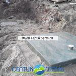 Монтаж устройства очистки сточных вод Топас