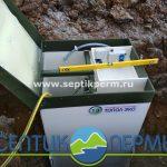 Монтаж устройства очистки сточных вод Топас 6 Лонг в Тихие пруды.