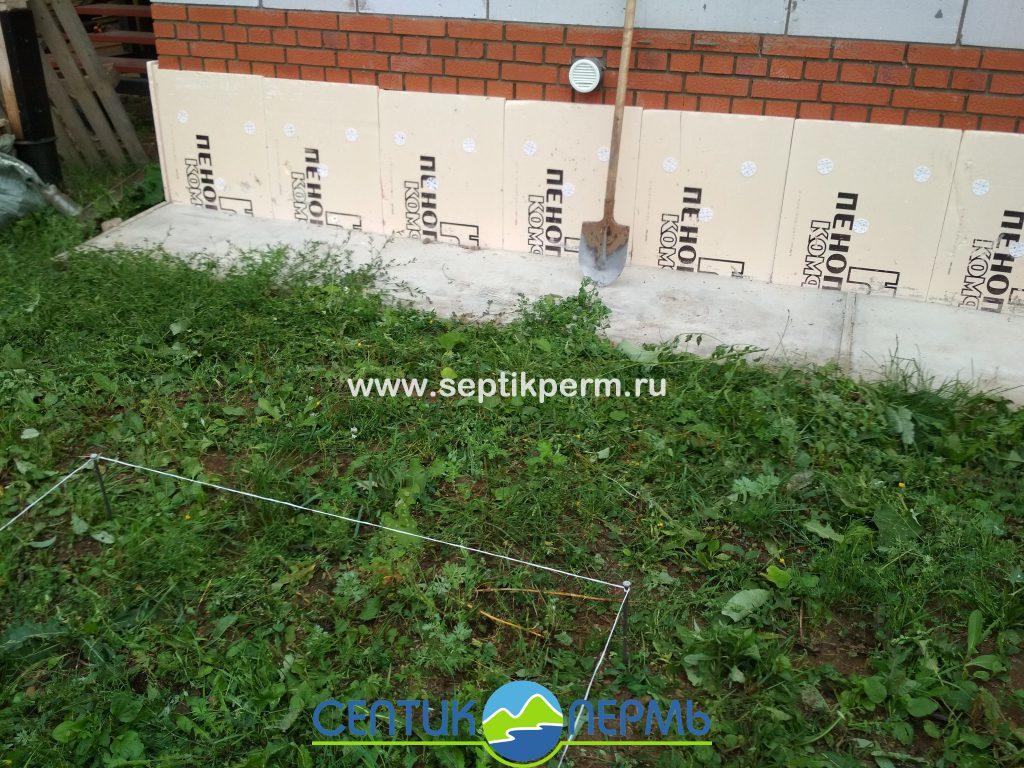 Монтаж устройства очистки сточных вод Топас 6 Пр в Юго-Камский ул.Пионерская