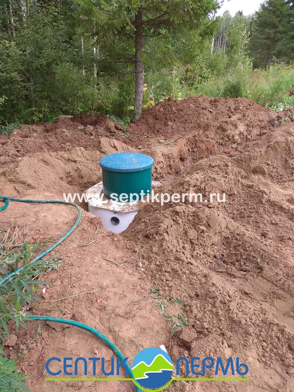 Шефмонтаж локального очистного сооружения Kolo Vesi 5 в поселке Ново-Бродовский