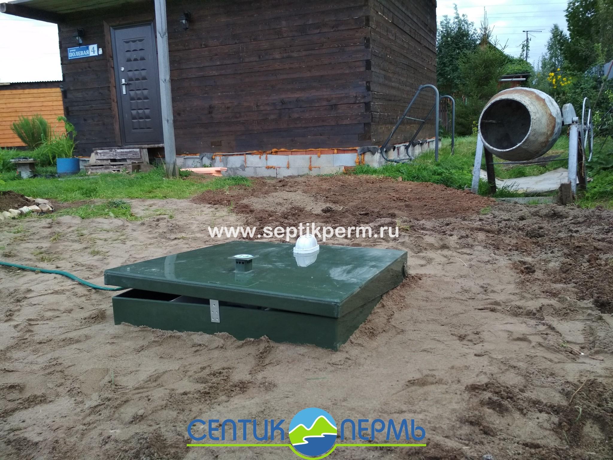 Установка станции глубокой биологической очистки Топас-С 5