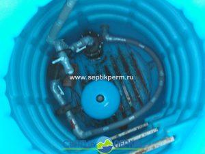 Установка пластикового кессона на Голицынской
