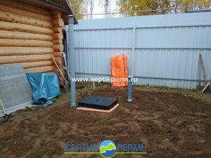 Монтаж погреба TINGARD 1500 в СНТ Кривое