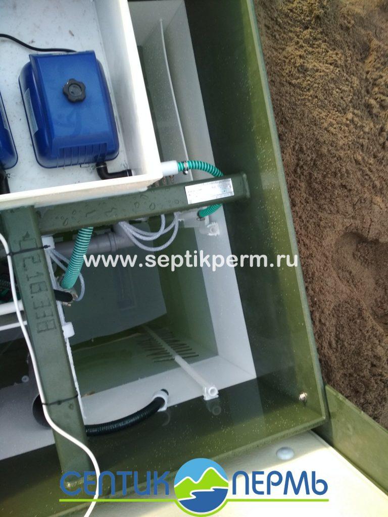 Монтаж автономной канализации Топас 5 Пр Крохолевка