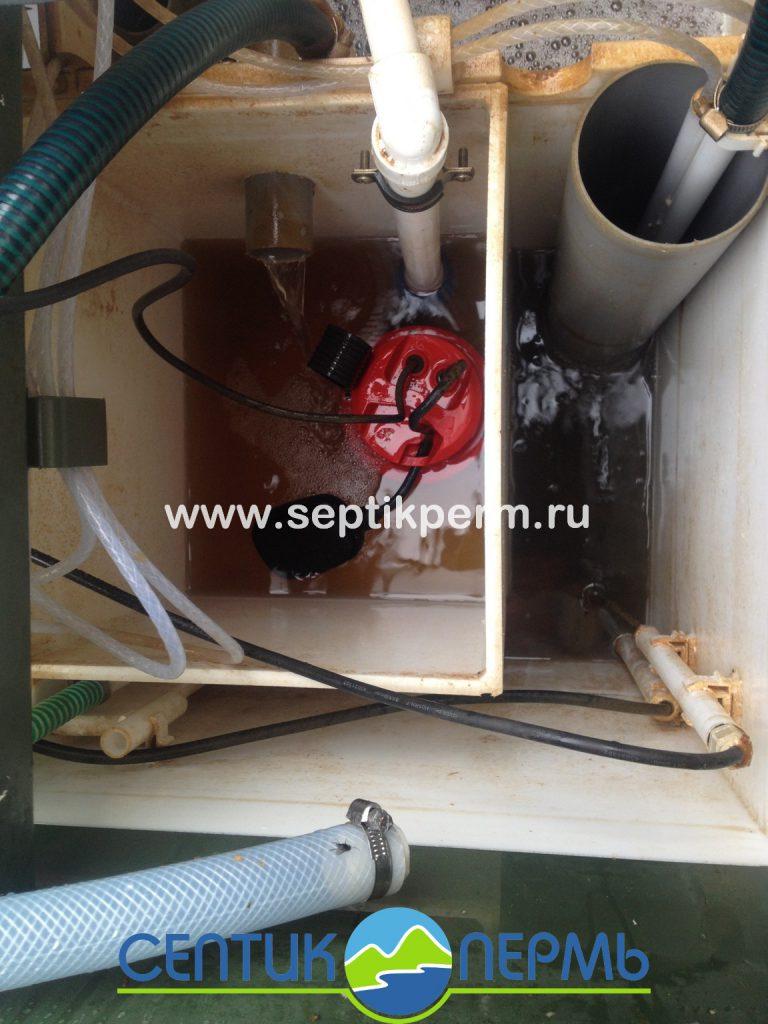 Шефмонтаж станции глубокой биологической очистки Топас 5 Пр ул.Полевая.