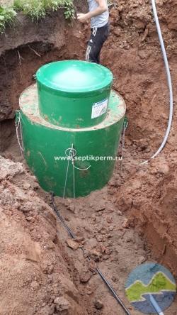 Монтаж автономного водоснабжения кессон