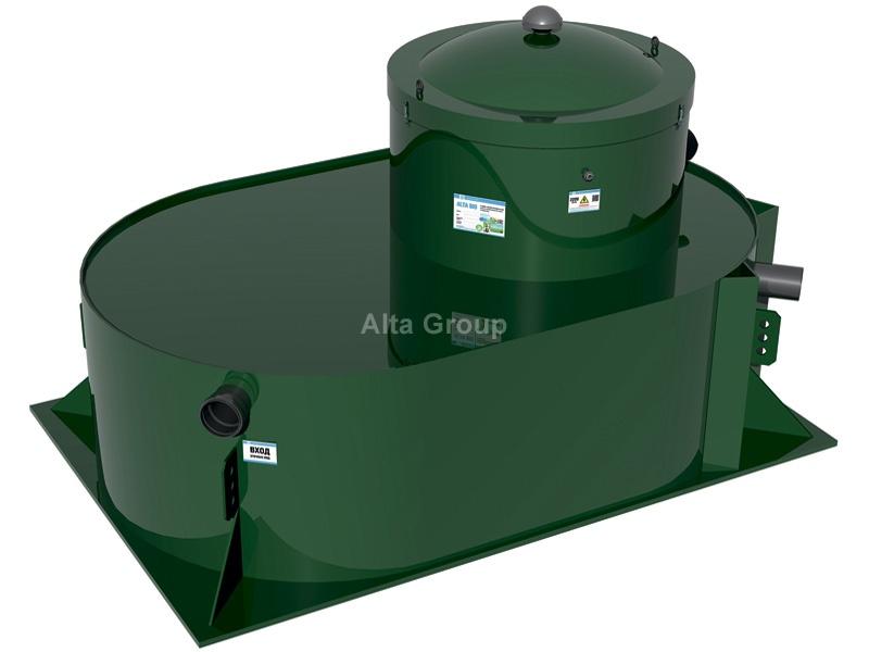altabio 5 Low автономная канализация заниженная