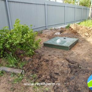 Монтаж устройства очистки сточных вод