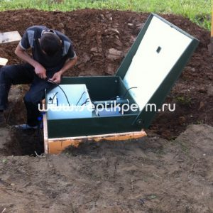 Монтаж автономной канализации Топас 4 Пр