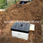 Монтаж погреба Tingard СНТ Радуга