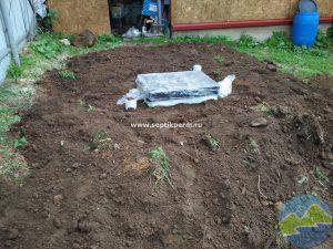 Установка погреба TINGARD Дворцовая слудка
