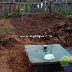 Монтаж септика Топас 4 Пр в деревне Фролово Карагайского района