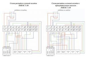 Схема блока управления Топас (Топас Пр)