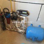 Установка умягчителя воды WaterBoss 400 в частном доме